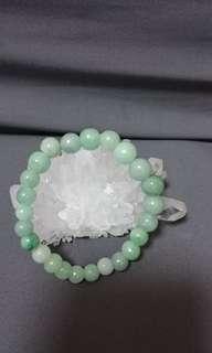 Real jade bracelet/ 真玉手珠