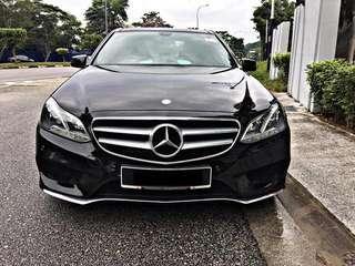 Sambung bayar Mercedes e250