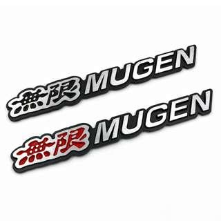 Mugen Door Handle Protector Size Small For FD1 GK Fit FD2 FK8 Civic FK7 FD3