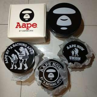 全新Aape by A Bathing Ape塑膠收纳盒