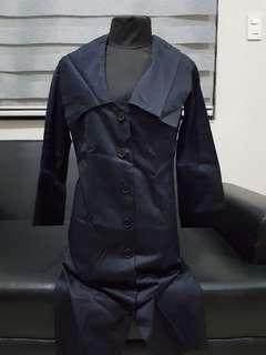 Avant Garde Button Down Dress