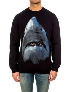 💎💯Authentic GIVENCHY SWEATSHIRT in BLACK WITH SHARK PRINT💎