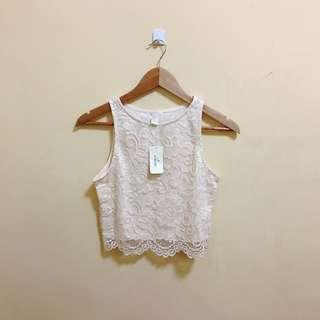 Forever 21 Laced Top