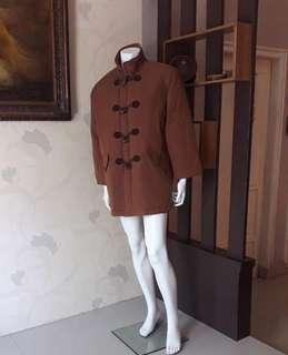 BULU ANGSA👍Long Coat Winter Dark Brown Restock