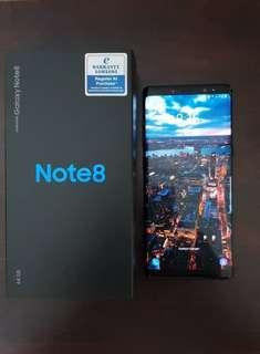 Note 8 Black (Warranty On)