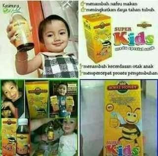 Natural super kids honey