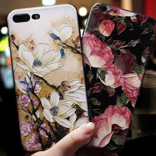 Retro Flowers Capa Beautiful Floral Case