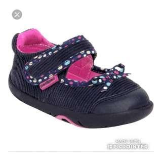 BN Pediped Grip 'n' Go - Becky Navy Shoe
