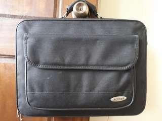 Acetek Black Laptop Bag