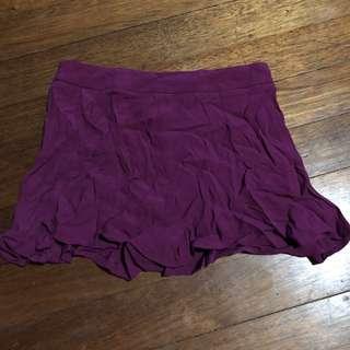 F21 magenta shorts