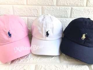 Polo Ralph Lauren 刺繡 Logo Cap 🇺🇸直送 (現貨)