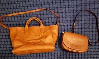 Zara Tote Bag & 3.3 Field Trip Everyday Crorss shoulder bag