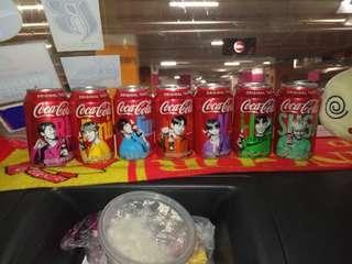 Coca Cola Coke BTS Korea complete set for sale