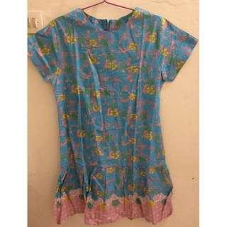 Dress Batik Shabby