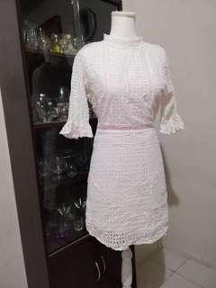 Pre Loved White dress