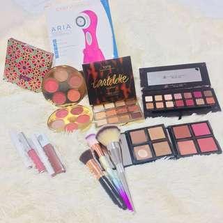Bags & Makeup & Clarisonic Set