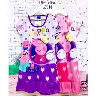❤Bargain Sale❤ peppa Pig Jersey Dress J109 Buy any 3 for RM33