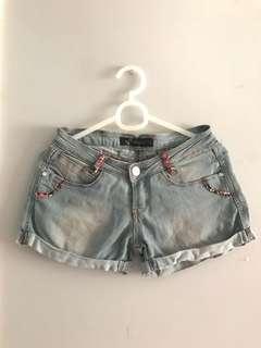 Redgirl Denim Shorts