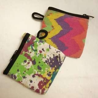 COLORED POUCHES
