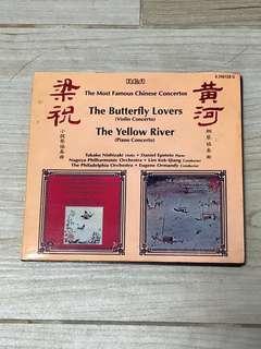 梁祝 黃河 協奏曲 CD 日本天龍版 24k金碟