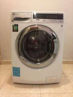 Electrolux EWW14012 10KG Front Load Washer and 7KG Dryer (White)  Washing Machine with Dryer