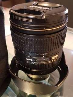Nikon 24-120mm f4 VR