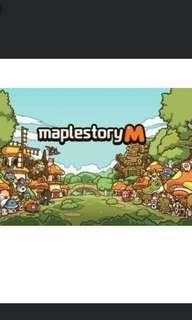 maplestory m power leveling