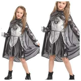 IN STOCK Kids girl medieval costume fighter costume warrior costume game of thrones costume hunger games costume Halloween costume