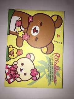 鬆弛熊 輕鬆小熊 紀念冊 同學錄