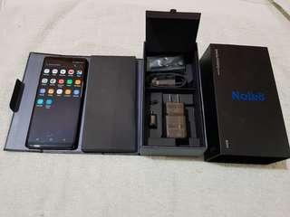 Samsung Galaxy Note 8 Midnight Black 64GB Complete Package