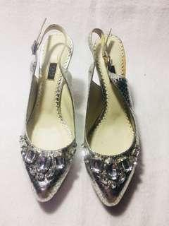 Rafe silver shoes