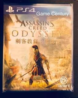 全新 PS4 刺客教條 : 奧德賽 中英文版 Assassin's Creed Odyssey Chi/Eng 首批連code