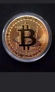 Bitcoin coins 4cm (gold/silver/bronze)