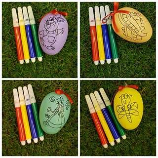 Goodie bag, colouring egg, egg art, Easter egg, Goody bag