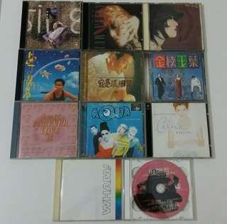 十隻八隻 舊CD,自由出價 如兩日內我不回覆,即價不合