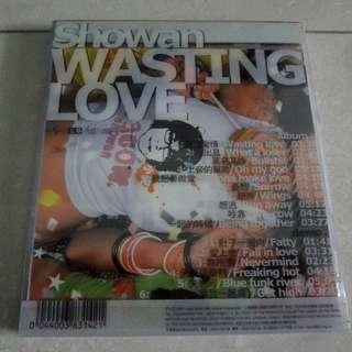 小安 浪费爱情 Showan Wasting Love CD
