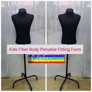 Kids Fiber Body Pinnable Fitting Form