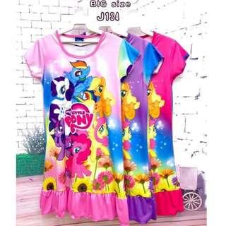 ❤Bargain Sale❤ My Little Pony Jersey Dress J134 *Buy any 3 for RM33*