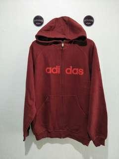ADIDAS zip HOODIE (022)
