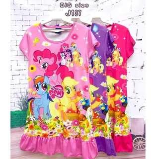 ❤Bargain Sale❤ My Little Pony Jersey Dress J137 *Buy any 3 for RM33*