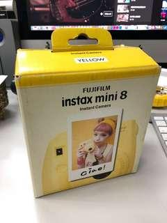 Fujifilm Instax Mini 8 全新 yellow colour