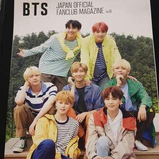 BTS JAPAN OFFICIAL FANCLUB MAGAZINE Vol.6