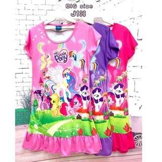 ❤Bargain Sale❤ My Little pony Jersey Dress J138 *Buy any 3 for RM33*