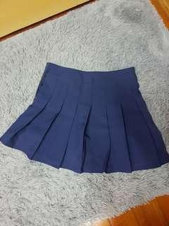 🚚 高腰顯瘦韓版百褶裙