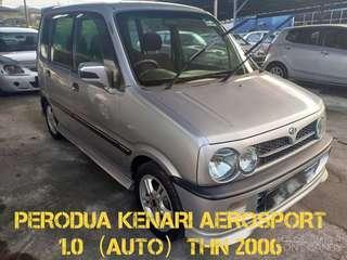 PERODUA KENARI AEROSPORT 1.0 (AUTO) THN 2006,CAR KING‼️