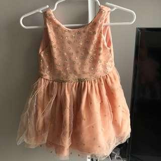 Peppermint Glittery Tutu Dress