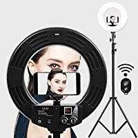 18 inch ring lite with free stand - lowest prices