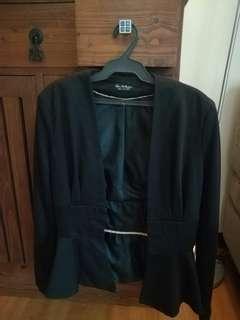 Miss Selfridge Black blazer