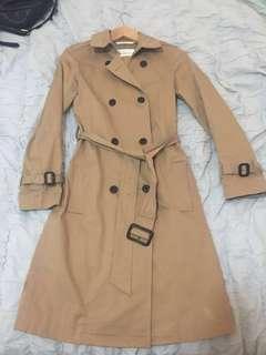 Aritzia Babaton Trench Coat XXS