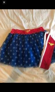 Wonder Woman Tutu & Socks